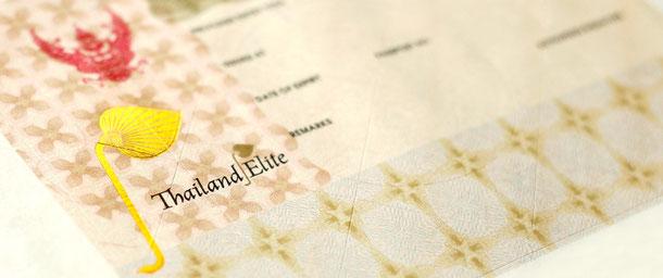 5 jahres Visum Thailand Elite