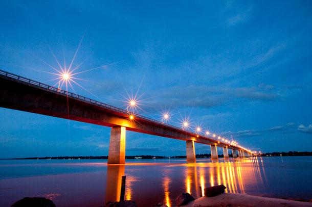 Thai-Lao-Freundschaftsbrücke Mukdahan