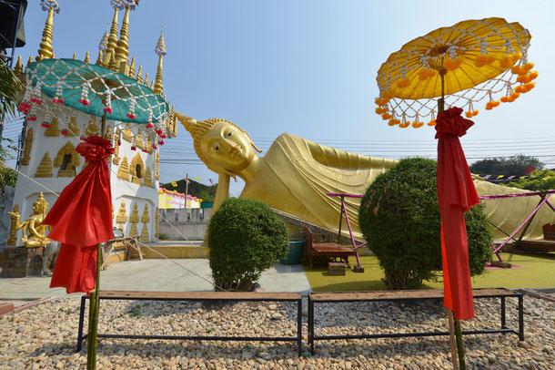 Phrae - Provinz und Stadt im Norden von Thailand