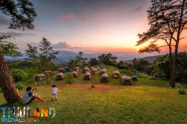 Zelten in Chiang Mai