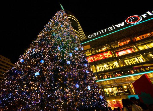 Weihnachtsbaum in Bangkok