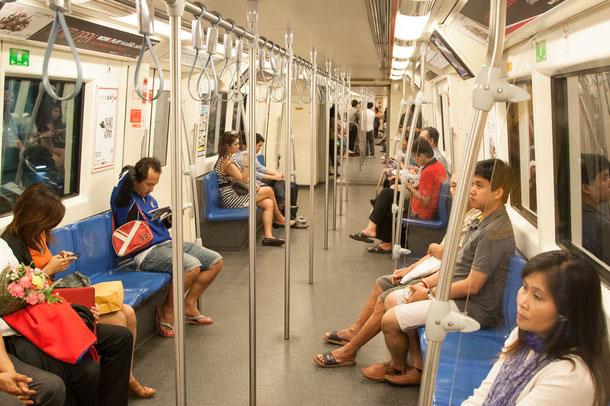 Metropolitan Rapid Transit MRT in Bangkok
