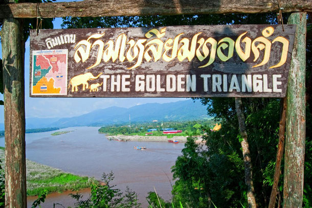 Goldenes Dreieck (Aussichtspunkt in Sop Ruak)