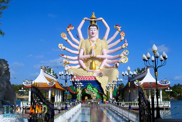 Wat Plai Laem - Sehenswürdigkeit auf Koh Samui