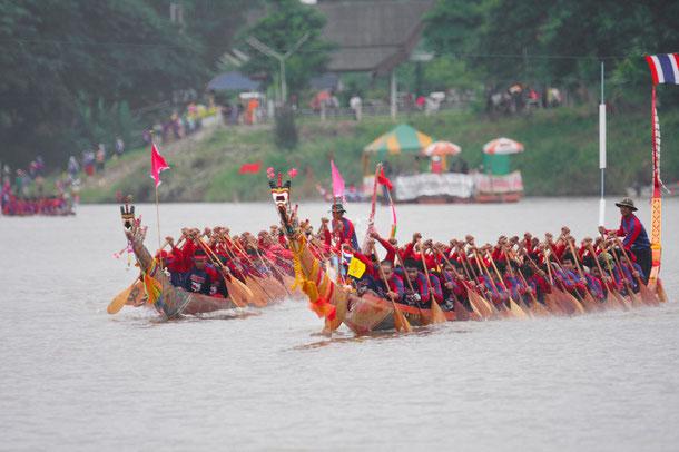 Bootsrennen Thailand