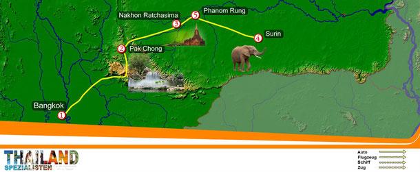 Rundreise: Elefanten-Fest in Surin