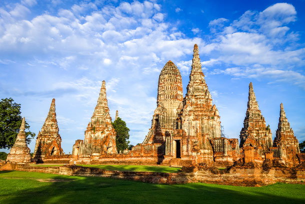 Wat Chaiwatthanaram , Ayutthaya