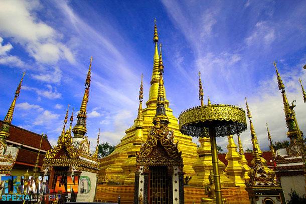 Wat Phra Boromthat in Tak