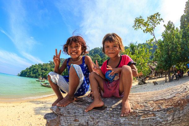 Moken in Koh Surin Thailand