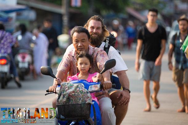Anreise nach Chiang Khong