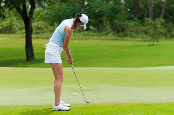 Michelle Wie auf dem Siam Country Club in Pattaya