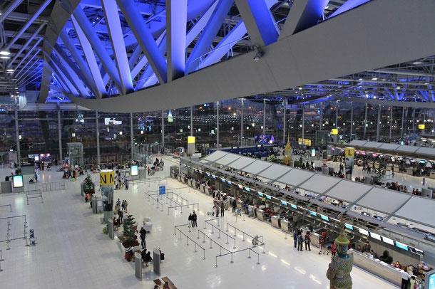 Flughafen Bangkok Survarnabhumi