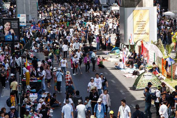 Bangkok Unruhen 2014