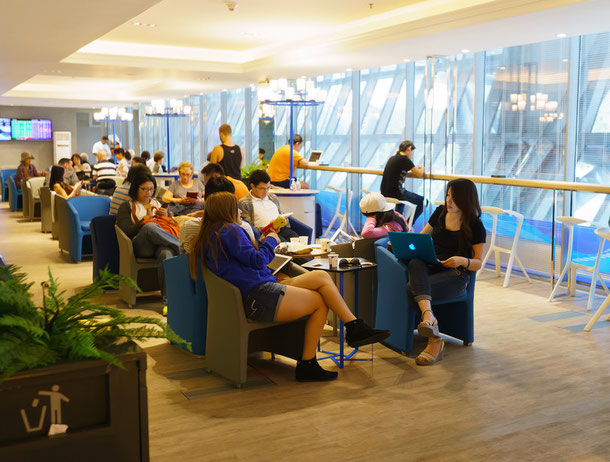 Bangkok Airways Business class lounge Bangkok