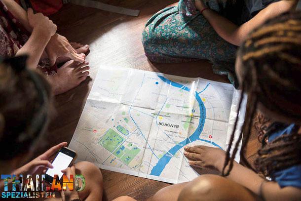 Bangkok backpackig auf eigene Faust erkunden
