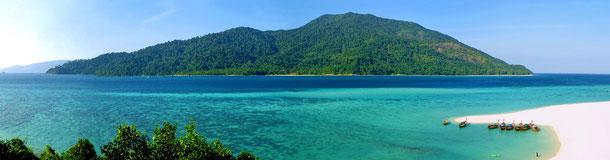 Hier zu sehen: Koh Adang - beste Reisezeit von November bis April.