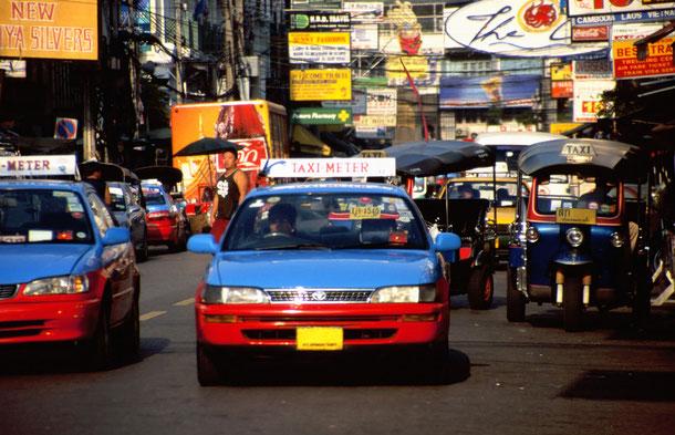 Taxipreise sind abhängig der jeweiligen Region sowie dem Geschick zu handeln.