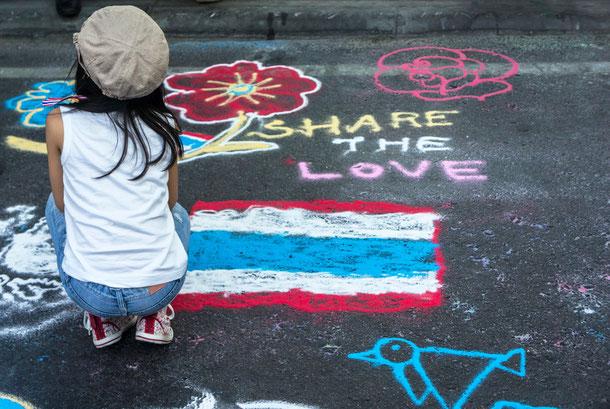 Politische Unruhen in Bangkok 2013