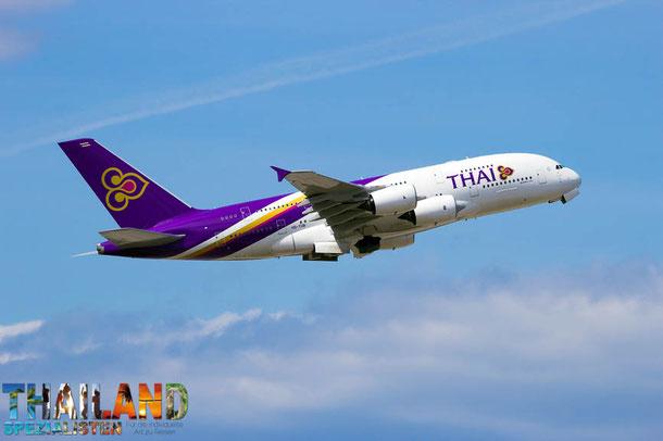 Thai Airways Flugziele weltweit