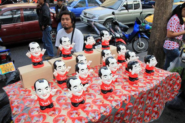 "Protest der ""Rothemden"" in Bangkok"