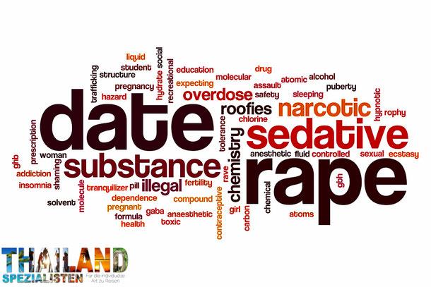 Schlafmittel als Vergewaltigungsdroge in Thailand
