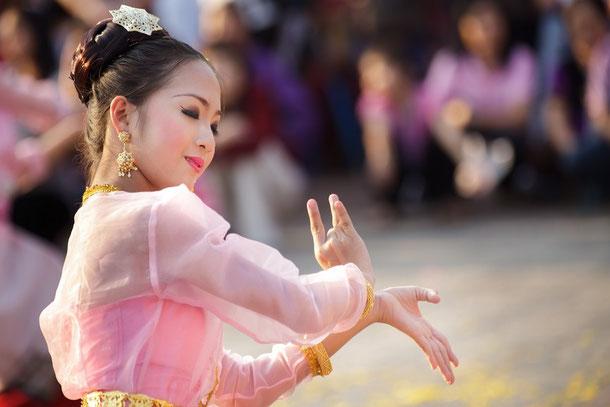 Traditioneller thailändischer Tanz