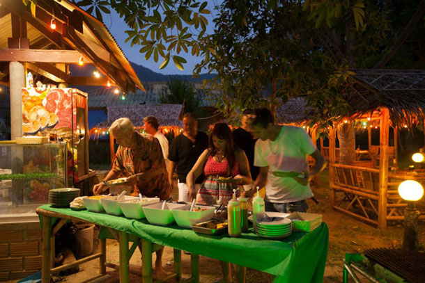 The Holy Grill in Chaloklum auf Koh Phangan