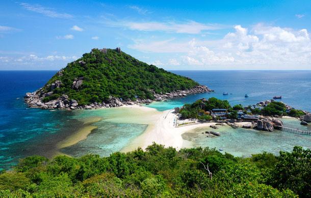 Tauchspot bei Nangyuan Island, Thailand