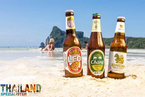 Thailändische Biere