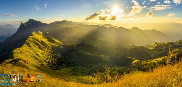 Berge von Nord-Thailand