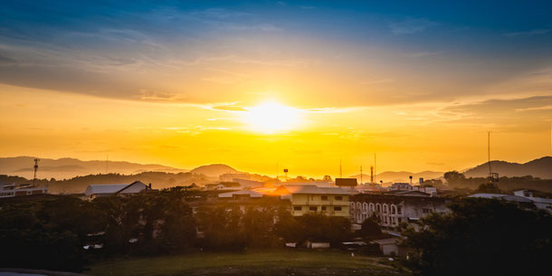 Sonnenuntergang Chiang Rai