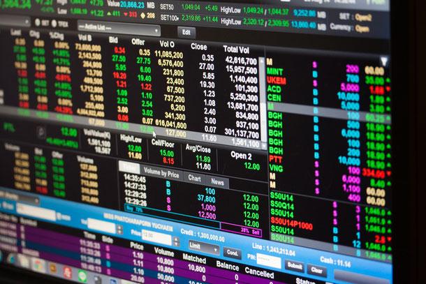 Wirtschaftslage der Börse