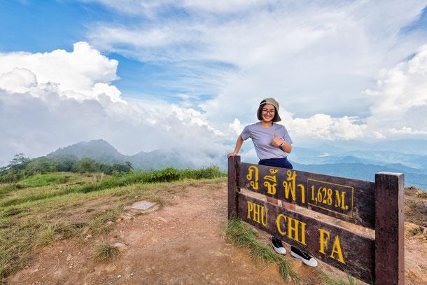 Phu Chi Fa - Eine 1.628 Meter hohe Sehenswürdigkeit in Thailand