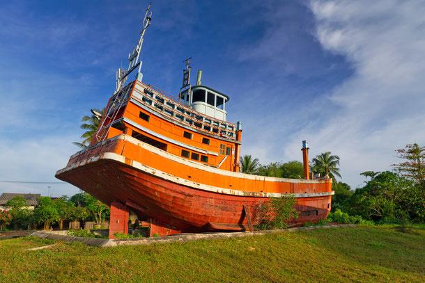 Tsunami-Denkmal in Baan Nam Khem
