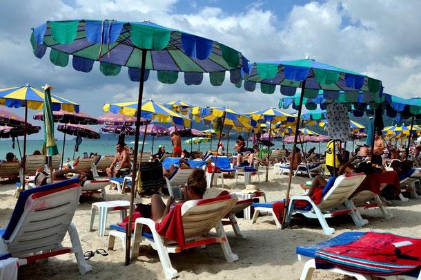 Phuket - Patong Beach zur Hochsaison