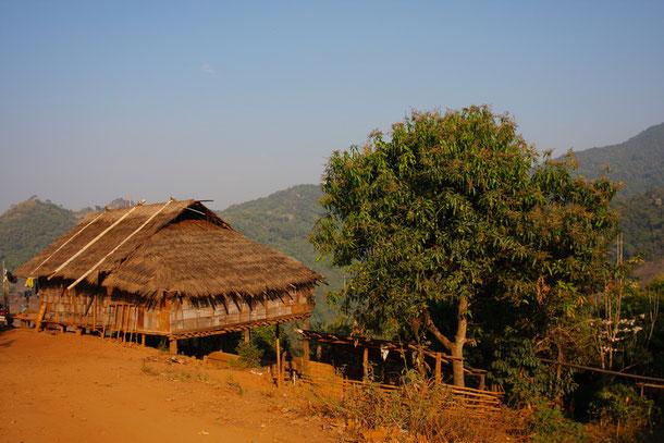 Bambus Haus in Nordthailand