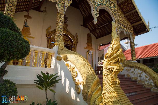 Wat Chiang Man in Chiang Mai - Der erste Lanna Tempel