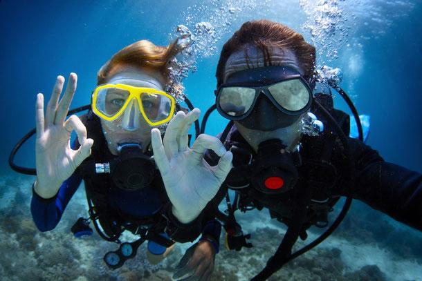 Tauchen lernen im Thailand Urlaub