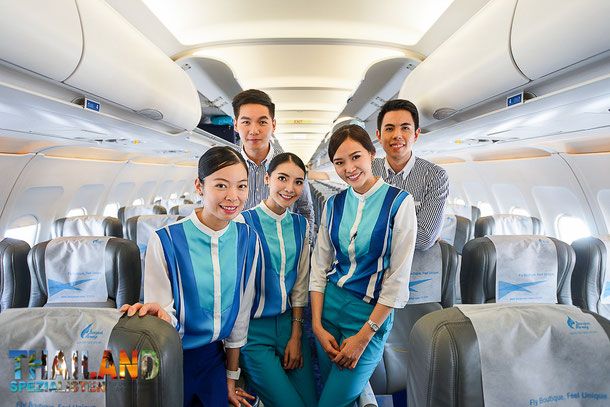 Bangkok Airways Crew