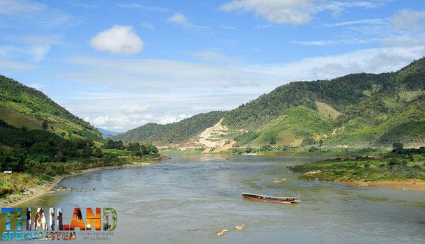 Chiang Khong Thailand nach Laos