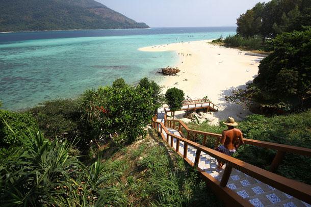 Insel Koh Lipe: im Marine Nationalpark Tarutao