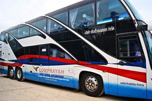 Lomprayah - Touristen VIP Bus in Thailand