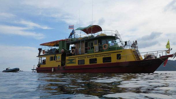 Schnorcheltour in der Andamanensee