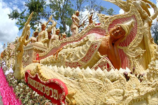Candle Festival Ubon Ratchathani