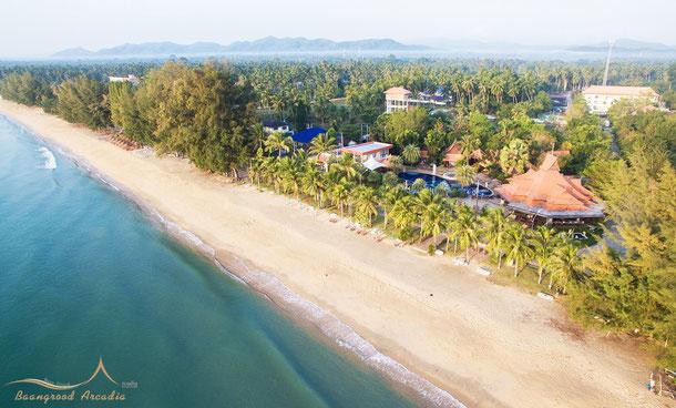 Grood Aracadia Resort in Ban Krut mit Strand