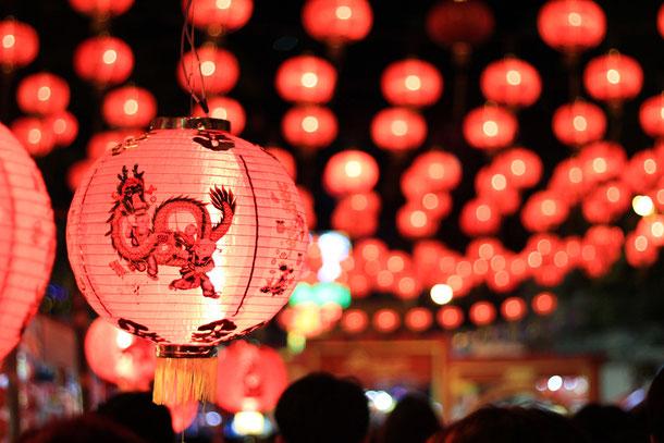 Chinesische Neujahrsfest in Thailand