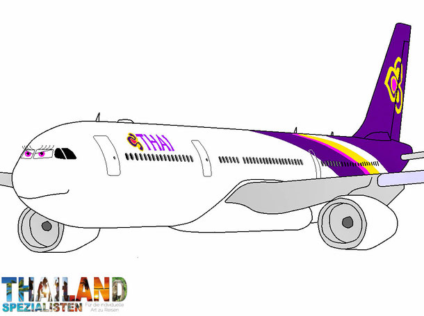 Thai Airways International Frankfurt nach Bangkok