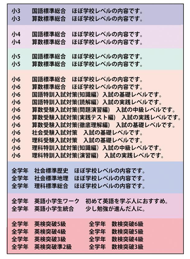 小学生ネット授業詳細