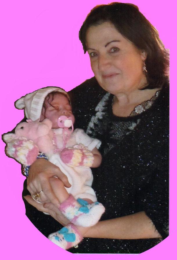 Marjorie et sa créatrice
