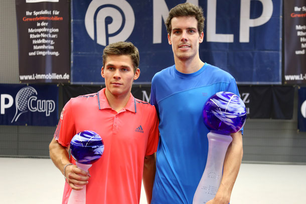 Daniel Masur und Mats Moraing